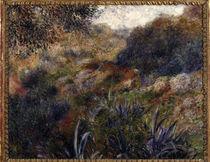 A.Renoir, Algerische Landschaft von AKG  Images