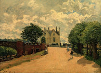 A.Sisley, Bruecke von Hampton Court by AKG  Images