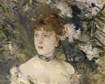Morisot/Junge Frau i.Ballkleid/Det./1879 by AKG  Images