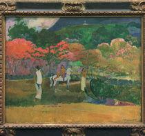 P. Gauguin, Frauen mit weissem Pferd by AKG  Images