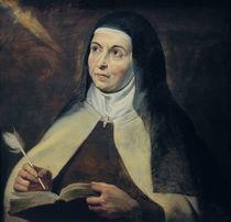 P.P.Rubens, Die hl. Theresa von Avila by AKG  Images