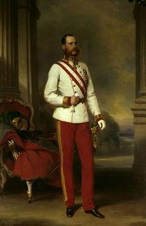 Kaiser Franz Joseph / Winterhalter by AKG  Images