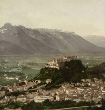 Salzburg, Blick vom Kapuzinerberg / Foto by AKG  Images