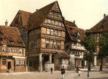 Hildesheim, Andreasplatz, Pfeilerhaus by AKG  Images