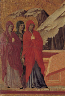 Duccio, Drei Marien am Grabe von AKG  Images