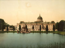 Potsdam, Stadtschloss / Foto 1898 by AKG  Images