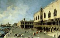 Venedig, Dogenpalast / Gem.v.Canaletto by AKG  Images