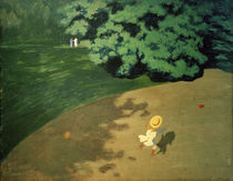 F.Vallotton, Der Ball by AKG  Images