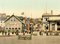 Helgoland, Kaiserstrasse / Photochrom by AKG  Images