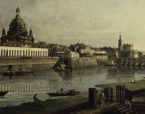 Dresden, Bruehlschen Terrasse / Bellotto von AKG  Images
