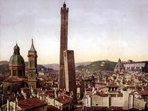 Bologna, Stadtzentrum u.Torre Asinelli von AKG  Images