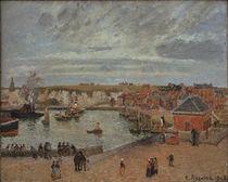 C.Pissarro, Der Hafen von Dieppe von AKG  Images