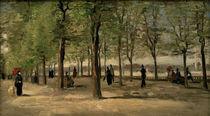 Van Gogh, Promenade im Jardin du Luxemb. von AKG  Images
