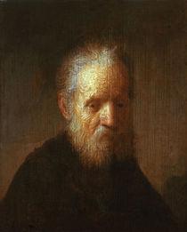 Rembrandt/Brustbild eines alten Mannes by AKG  Images