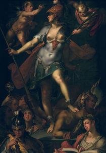 B.Spranger, Minerva als Siegerin... by AKG  Images