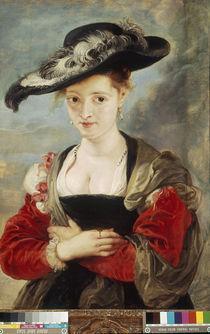 P.P.Rubens, Le Chapeau de Paille by AKG  Images