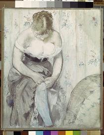 Manet/Die Frau mit dem Strumpfband/1878 by AKG  Images