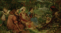 Boccaccio, Decamerone / J.W.Waterhouse von AKG  Images