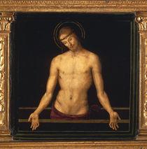 Pietro Perugino, Christus im Grabe by AKG  Images