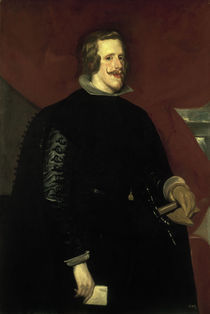 Philipp IV. v.Spanien /Velazquez       . by AKG  Images