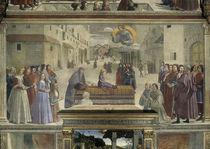 Ghirlandaio, Franziskus erweckt Kind by AKG  Images