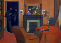 F.Vallotton, Das rote Zimmer by AKG  Images