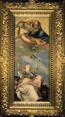 Veronese/ Juno ueberschuettet Venedig/1553 von AKG  Images
