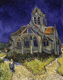 Van Gogh/ Kirche in Auvers sur Oise/1890 von AKG  Images