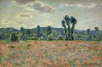 C.Monet, Feld mit Mohnblumen by AKG  Images