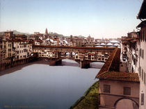 Florenz, Ponte Vecchio / Photochrom by AKG  Images