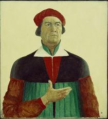 Kasimir Malewitsch, Selbstbildnis 1933 by AKG  Images