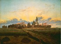 Friedrich/Sonnenaufgang Neubrandenb.1835 by AKG  Images