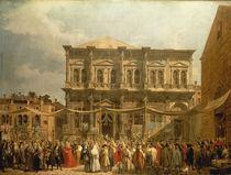 Venedig, Scuola di S. Rocco / Canaletto von AKG  Images