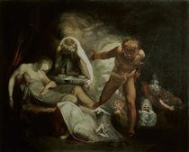 Fuessli, Belindas Traum/Gem. um 1780 von AKG  Images