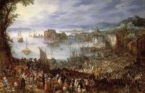 Jan Bruegel d.J./ Grosser Fischmarkt/1603 von AKG  Images