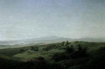 C.D.Friedrich, Landschaft mit See by AKG  Images