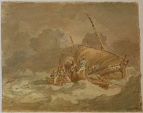 W.Turner, Seeleute hieven Schweine... von AKG  Images