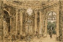 Sansscouci, Marmorsaal / Zng.v.Menzel by AKG  Images