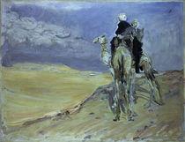 Slevogt, Sandsturm Libysch.Wueste/1914 von AKG  Images