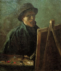 van Gogh, Selbstbildnis vor Staffelei by AKG  Images