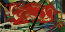 Franz Marc, Die Weltenkuh by AKG  Images