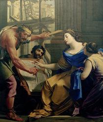Artemisia beim Bau... / Gem.v.Vouet by AKG  Images