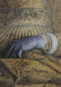 Barbara v.Brandenburg, Hand / Mantegna by AKG  Images