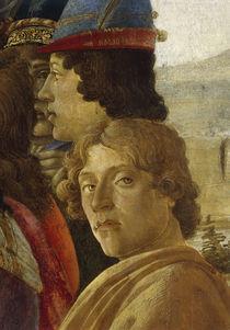 Botticelli, Anbetung Koenige, Ausschnitt by AKG  Images
