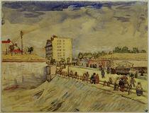 V.van Gogh, Pariser Stadttor by AKG  Images