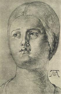A.Duerer, Kopf einer Frau by AKG  Images
