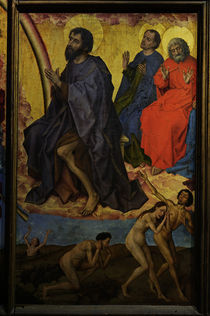 R.v.d.Weyden, Joh. d. T. und Apostel by AKG  Images