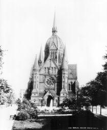 Berlin,Ansicht Hl.Kreuz Kirche/Foto Levy by AKG  Images