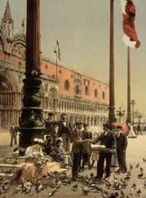 Venedig, Markusplatz / Photochrom von AKG  Images