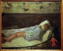 P.Gauguin, Die kleine Traeumerin by AKG  Images